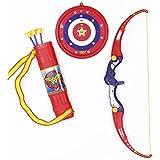 Arco e Flecha Mulher Maravilha Vermelho/Azul