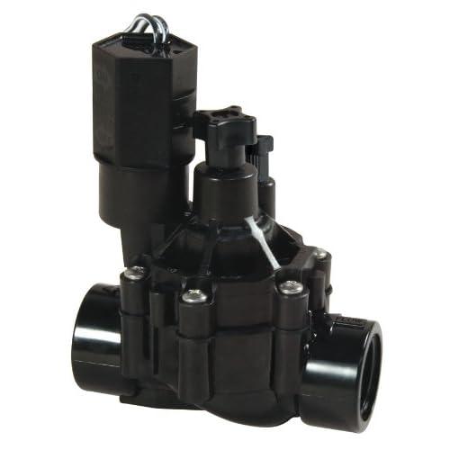 "Rain Bird CPF100 In-Line Automatic Sprinkler Valve with Flow Control, 1"""