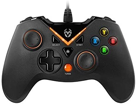 KROM Key - NXKROMKEY - Gamepad, Retroiluminado, Color Negro ...