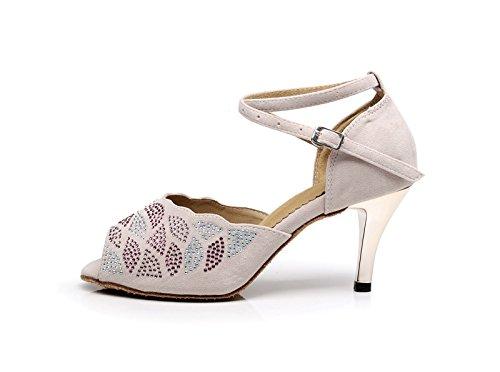 Miyoopark - salón mujer Beige-7.5cm Heel