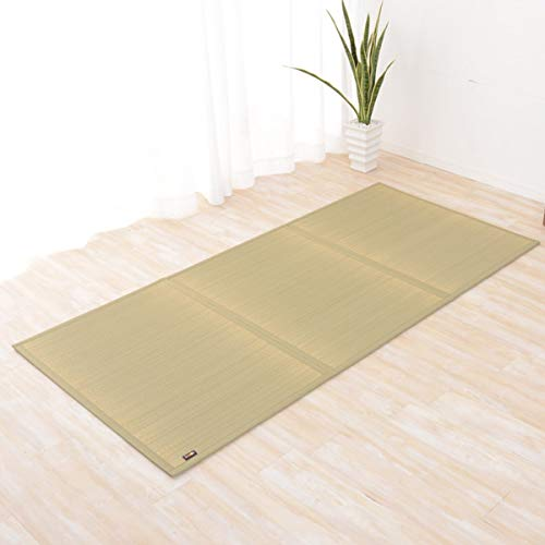 EMOOR Japanese Traditional Tatami (Igusa) Mattress, King Size (72x83), Natural (Undyed), Made in Japan