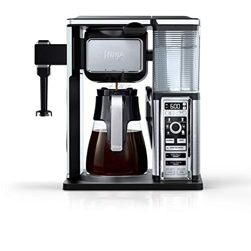 SharkNinja CF091 Coffee Makers, 50 oz, Silver - smallkitchenideas.us
