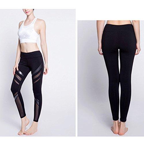 Zhhlinyuan Summer Athletic Yoga Quick-dry Pants Fashion Women's Elastic Tights Black