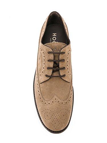 Chaussures Club Hogan En Daim Beige, Man.
