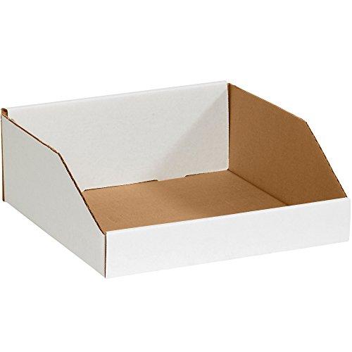 Aviditi BINMT121214 Corrugated Open Top Bin Box, 12