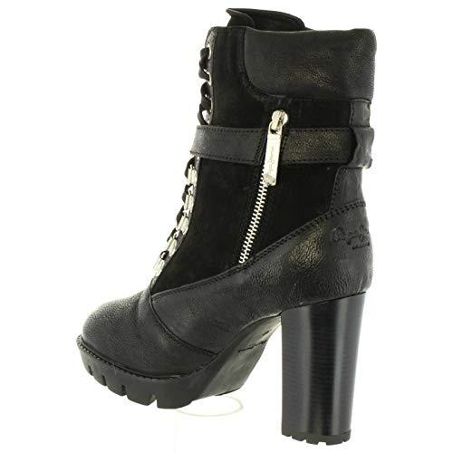 Donna 999 Jeans Stivali Pepe Per Vernon Pls50325 Black q8txFYS