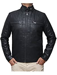 Mens Leather and Faux Leather Jackets   Amazon.com