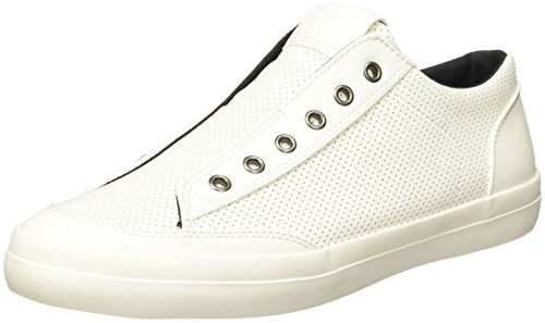 GUESS Men Gmmitt2.W Náuticos para Hombre, Color Blanco, 30.00