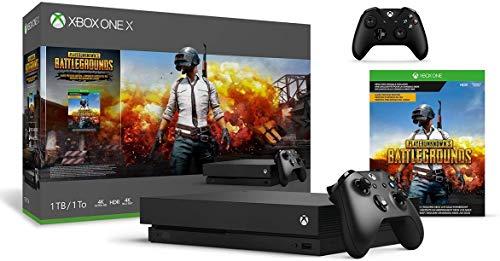 Microsoft Xbox One X 1TB PLAYERUNKNOWN'S BATTLEGROUNDS Bundle + Xbox One Wireless Controller – Black | Include:Xbox One X 1TB Console ,PLAYERUNKNOWN'S BATTLEGROU Full-Game, Xbox One WirelessController