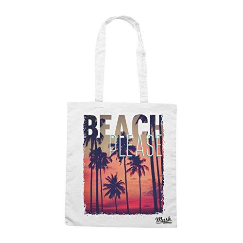 Borsa BEACH PLEASE - Bianca - MUSH by Mush Dress Your Style
