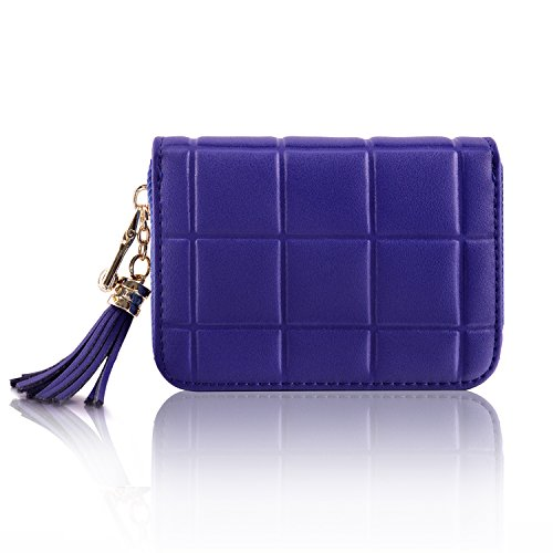 Genuine Leather Credit Card Wallet Women's Card Holder for Travel and Work Small Wallet for Women by MaxGear (Image #4)