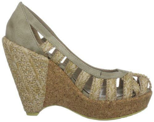 Heels Women's Britannia Feud Natural Bail Raffia Wedges vIBq7wT