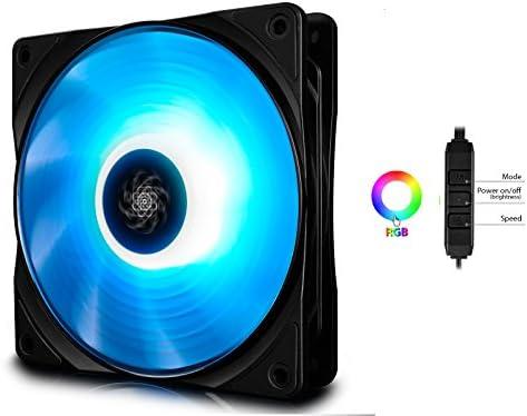 DEEP COOL RF120 PWM Ventilador para Ordenador RGB(120mm ...