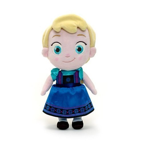Disney -- Elsa From Frozen Toddler Baby Small Soft Plush Doll Toy by Disney