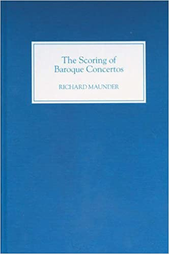 The Scoring of Baroque Concertos