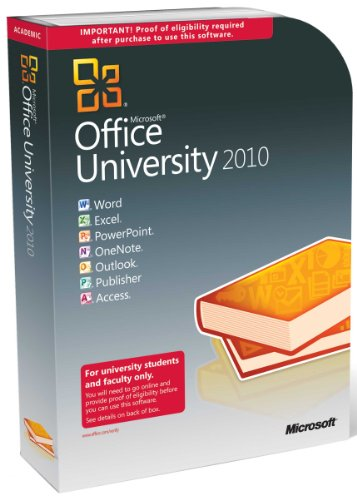 Microsoft Office University 2010 Version