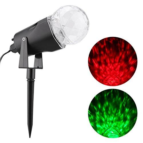 Excelvan Kaleidoscope Spotlight Waterproof Decorations product image