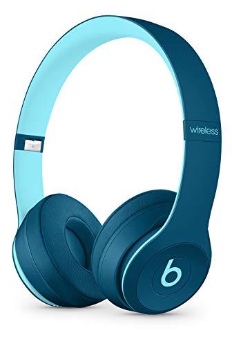 Beats by Dr. Dre – Beats Solo3 Wireless On-Ear Headphones – Beats Pop Collection- POP Blue (Renewed)