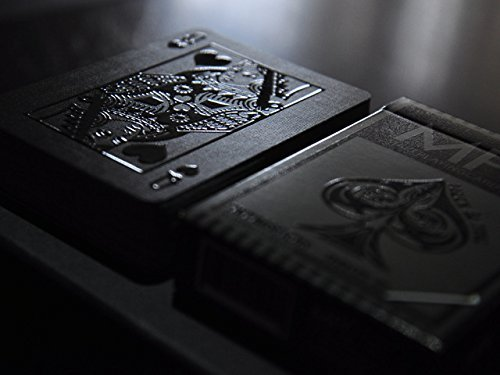 MPC Impressions Playing Cards Stealth Edition - Raised high gloss UV printing on card faces by Make Playing Cards