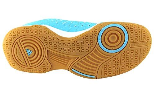 Shoes Cyan Bright 12 Women's Indoor Court Essence Adidas Blue wUFXq0OAX