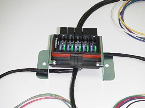 Concours specialties universal waterproof relay fuse