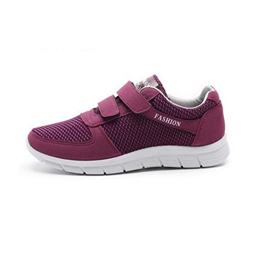 Y color cn35 Bottom Madre Zapatos Eu36 Mediana De Deportivos Viejos Transpirable Edad Size Red Malla 5 uk3 Fh Envejecido Antideslizante ORwxEBqWH