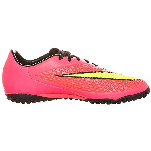 Nike Hypervenom Phelon TF Fussballschuhe bright crimson-volt-hyper punch-black - 47