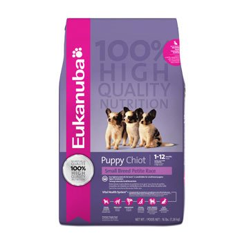 Eukanuba Dry Dog Food, Small Breed Puppy Formula, 4-Pound Bag, My Pet Supplies