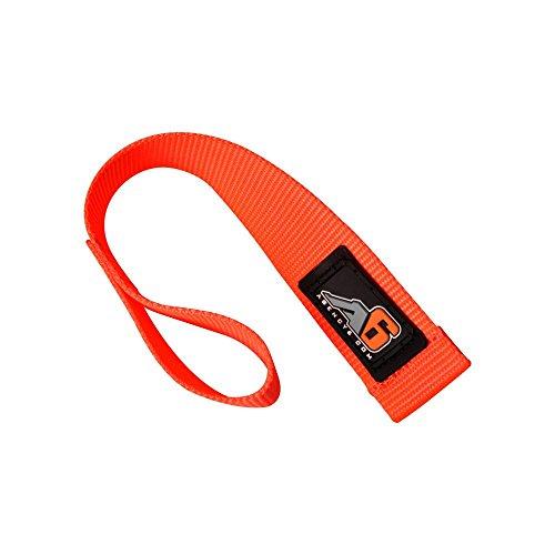 Hook Orange (Agency 6 Winch Hook Pull Strap - Safety Orange - 1.5 INCH Wide - Heavy Duty - Made in The U.S.A.)