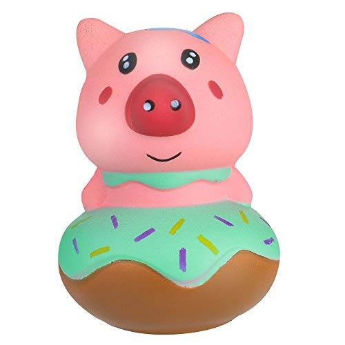 (Squeeze Stress Reliever Cute Pink Piglet Cream Scented Slow Rising Toys Gifts)