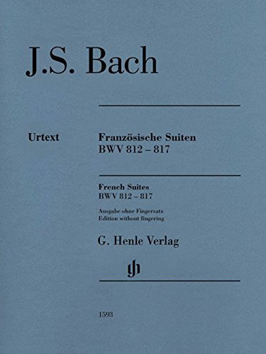 G. Henle Verlag French Suites BWV 812-817 Henle Music Folios Softcover by Bach Edited by Ullrich Scheideler