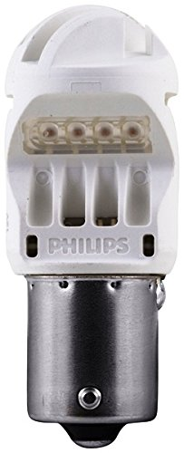 Philips 12839REDB2 Intense Red Vision LED Stop/Tail light, 2 - 1 Regency Bulb