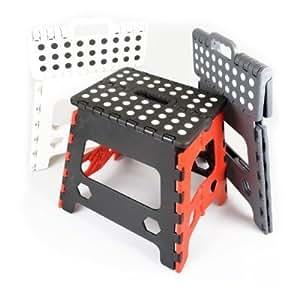 2x gran taburete de paso plegable–capacidad de 150kg)