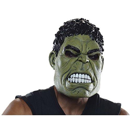 Adult 3/4 Hulk Mask Costume (Halloween Costumes Boys 2016)