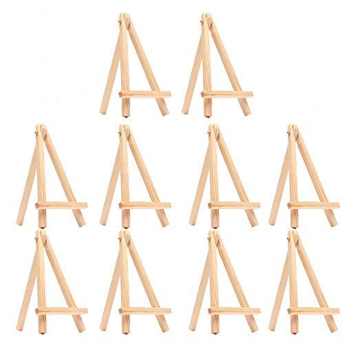 ZXLIFE@@ Mini Caballete Superior de la Tabla de la Forma del triángulo, estación de Trabajo de Madera Ajustable del Arte...