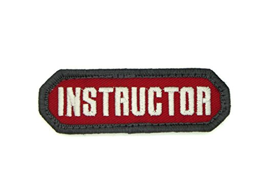 Instructor ( RED ) Patch