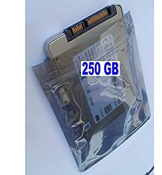 250 GB SSD Disco Duro Compatible con HP Compaq Notebook G62-454CA ...