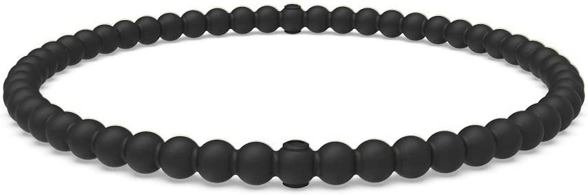 Lifetime Quality Guarantee Comfortable The Premium Fashion Forward Silicone Bracelet and Safe Breathable Enso Rings Beaded Stackable Silicone Bracelet