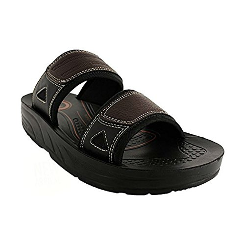 Aerosoft Mens Tumkur Sandals Brown mi3Qce6