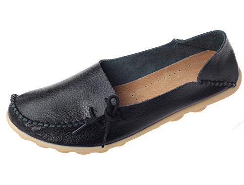 Comfort Scarpe 1 Basso Casuali Pompe Col Vogstyle Scarpe Piatto Espadrillas Nero Donna Tacco Stile wIqnxqva70