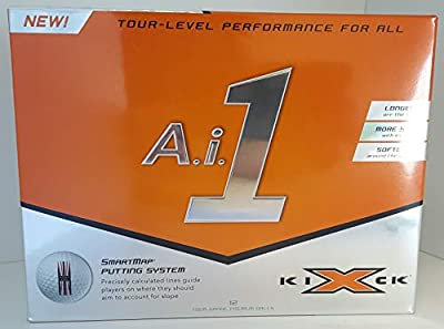 Kick-X Medicus Golf A.i.1 Tour Level Performance Golf Balls (12 Pack)