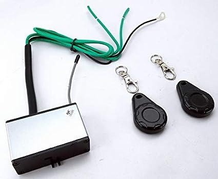 433 Mhz frecuencia contacto envío Digital cerradura de encendido auto Armado inmovilizador unidireccional sistema de seguridad