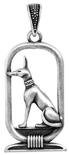 Pewter Medallion Pendant - YTC Summit Anubis Pendant - Collectible Medallion Necklace Accessory Jewelry