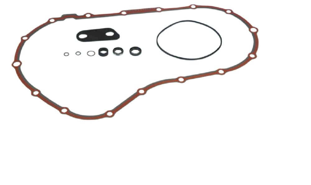 Orange Cycle Parts Primary Cover Gasket Paper w/ Bead & Seal Kit for Harley Sportser XL 2004 - 2017 by James Gasket JGI-34955-04-K