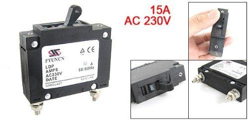 15 Amp AC 230V DealMux Rated Current Single Pole MCB Mini Circuit Breaker