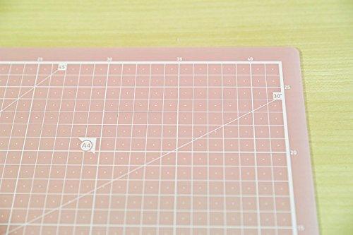 Translucent A3 Self Healing Rotary Cutting Mat Durable Pvc