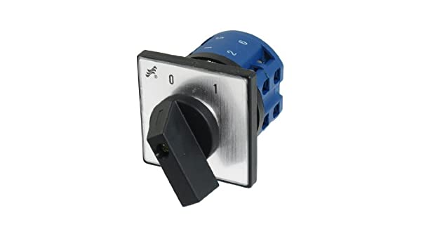 DealMux 380V 20A 8 Terminal On / Off Switch Rotary Mudança ao longo do Controle Cam - - Amazon.com