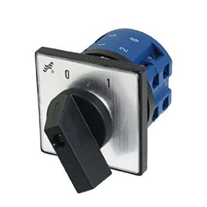 DealMux 380V 20A 8 Terminal On / Off Switch Rotary Mudança ao longo do Controle Cam