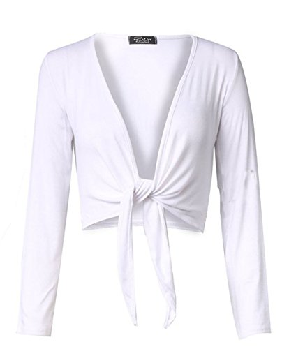 Fashion charming - Cárdigan - para mujer blanco