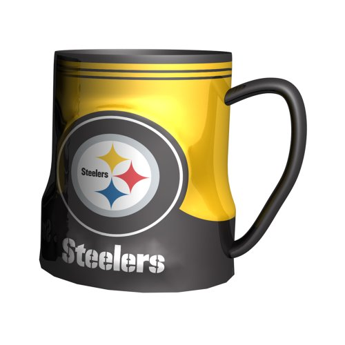 Pittsburgh Steelers Sculpted Coffee 18 ounce